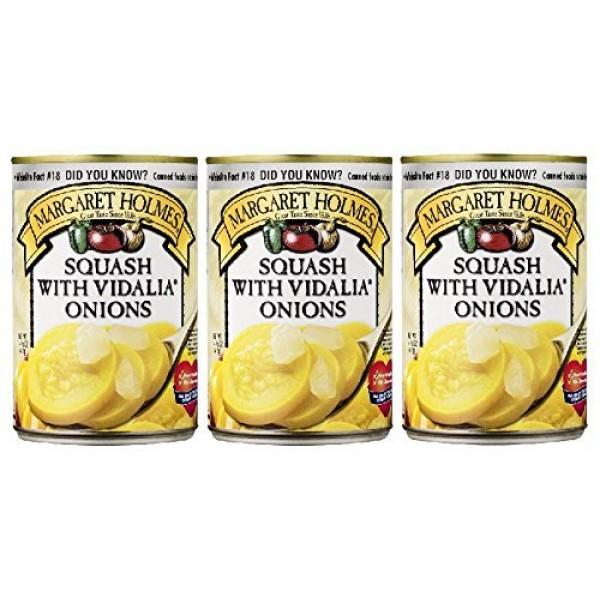 Margaret Holmes Squash with Vidalia Onions Pack of 3 14.5 oz ...