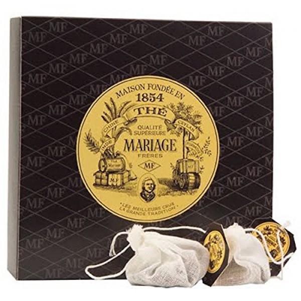 MARIAGE FRERES. Paris Breakfast Tea, 30 Tea Bags 75g 1 Pack Se...