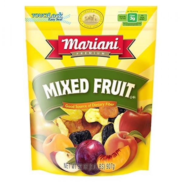 Mariani Sun Ripened Mixed Fruit No Sugar Added Dried Fruit 36 Ou...