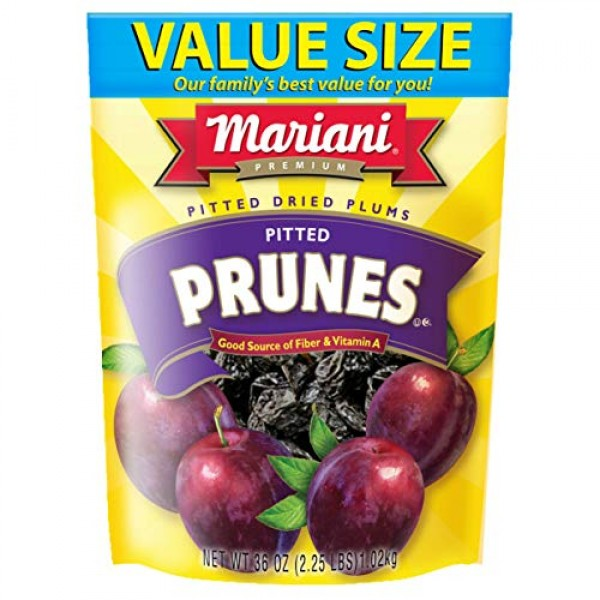 Mariani Pitted Dried Plums Pitted Prunes - Value Size Package - ...