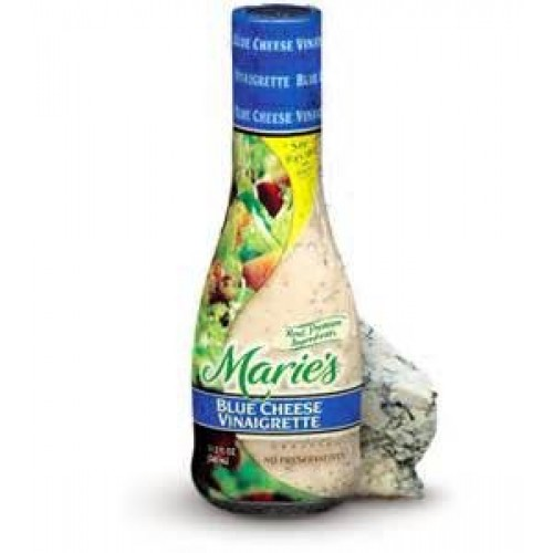 Maries refrigerated salad dressing blue cheese vinaigrette 11.5...