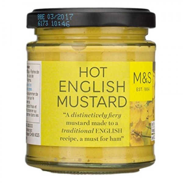 Marks & Spencer M&S Hot English Mustard 180g From the UK