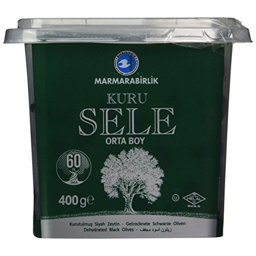 Marmarabirlik Exclusive Black Olive 14 oz. Kuru Sele
