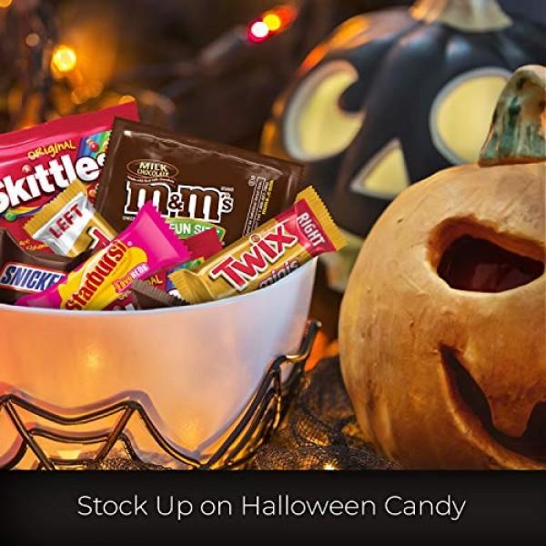 M&MS, SNICKERS, TWIX, STARBURST & SKITTLES Halloween Chocolate ...