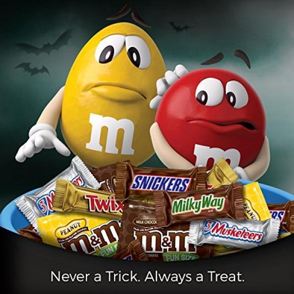 MARS Chocolate Favorites Halloween Candy Bars Variety Mix 69.2-O...