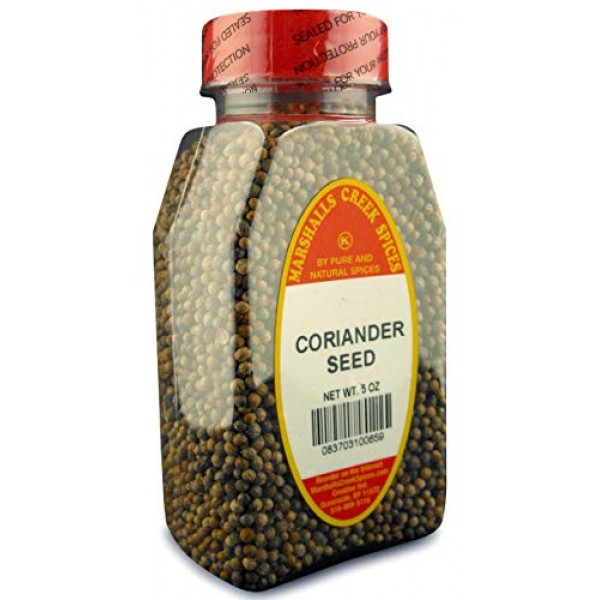Marshalls Creek Spices Coriander Seed Whole Seasoning,5 Ounce