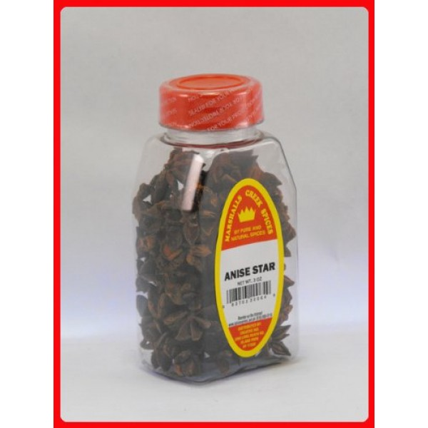 Marshalls Creek Spices Anise Star, 3 Ounce