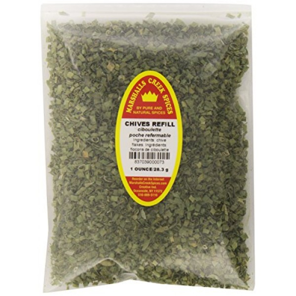 Marshalls Creek Spices Chives Seasoning Refill, 1 Ounce