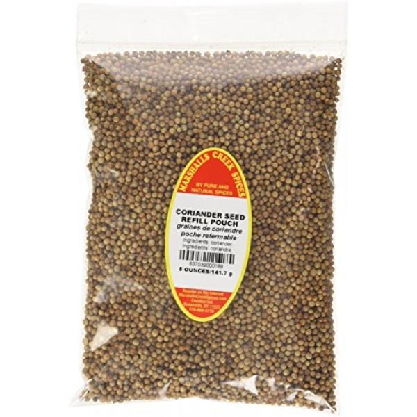 Marshalls Creek Spices Coriander Seed Whole Seasoning Refill, 1...