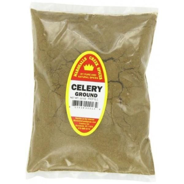 Marshalls Creek Spices Celery Seed Ground Seasoning Refill, 12 O...