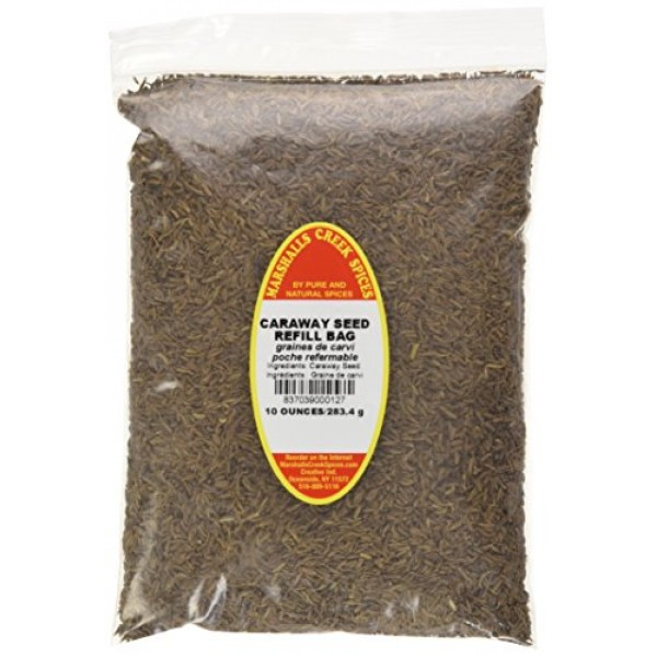 Marshalls Creek Spices Caraway Seed Seasoning Refill, 10 Ounce
