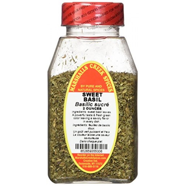 Marshalls Creek Spices Basil Sweet, Sweet Basil, 2 Ounce