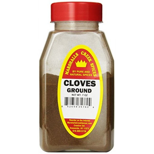 Marshalls Creek Spices Cloves Ground Seasoning, 7 Ounce