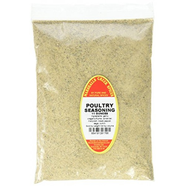 Marshall's Creek Spices Refill Pouch No Salt Seasoning, Poultry,...
