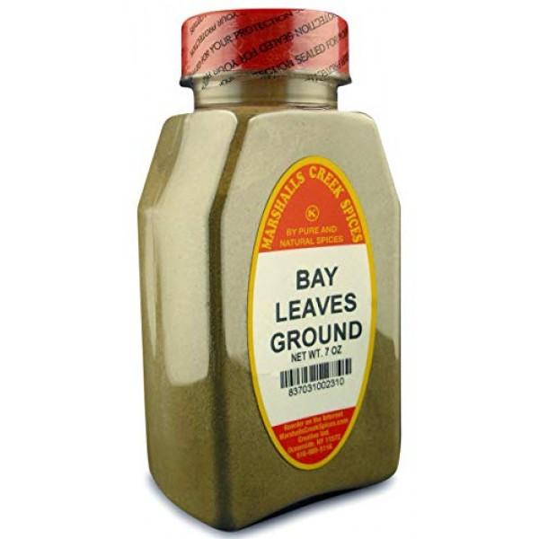 Marshalls Creek Kosher Spices, st00, BAY LEAVES GROUND