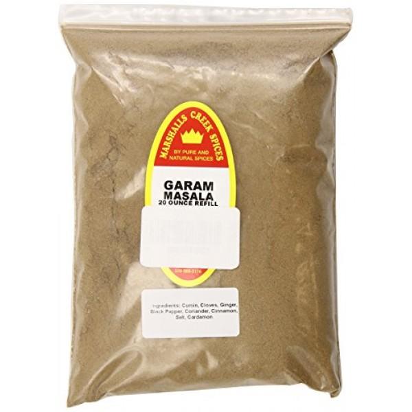 Marshalls Creek Spices X-Large Refill Garam Masala Seasoning, 20...