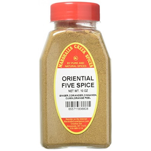Marshalls Creek Spices Kosher No Salt, Oriental 5 Spice, 10 Ounce