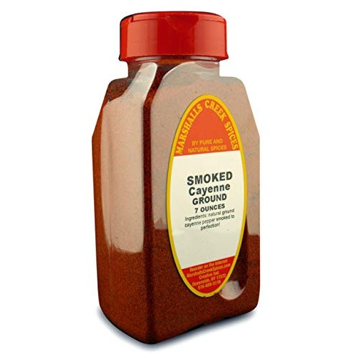 Marshalls Creek Spices st01 SMOKED CAYENNE PEPPER 7 oz.