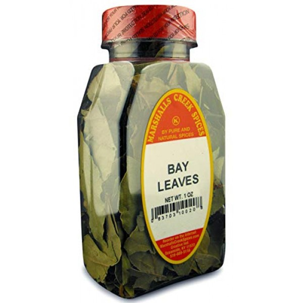 Marshalls Creek Spices Bay Leaves, 1 Ounce