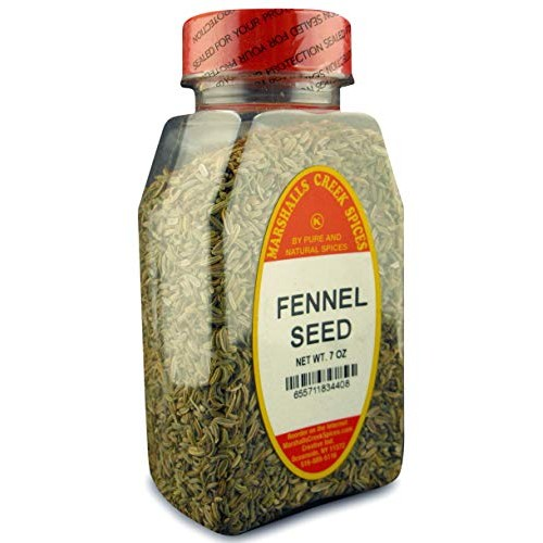 Marshalls Creek Spices Seed, Whole Fennel, 7 Ounce