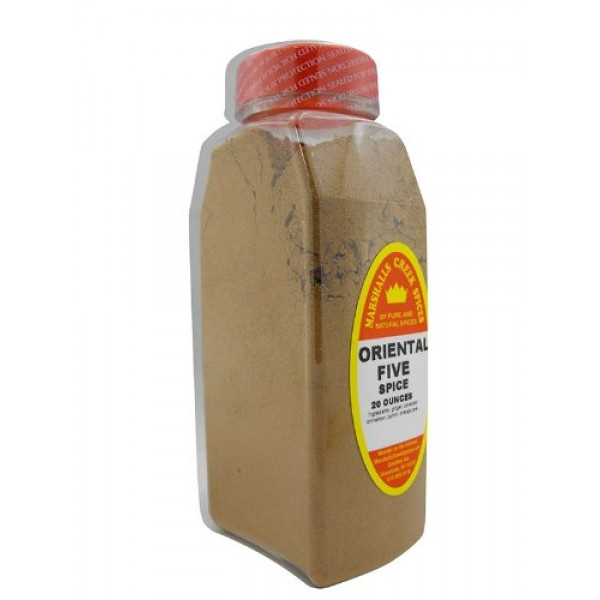 XL Size Marshalls Creek Spices Oriental Five Spice Seasoning, 20...