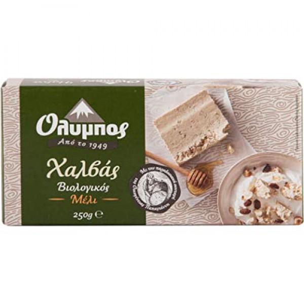 Greek Halva Organic With Honey 250g 8.8 oz
