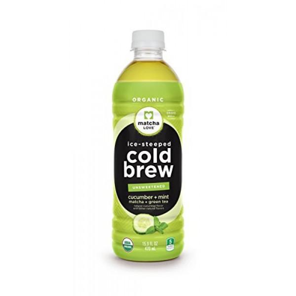 Matcha Love Cold Brew Cucumber Mint Matcha Green Tea 15.9 Ounce ...
