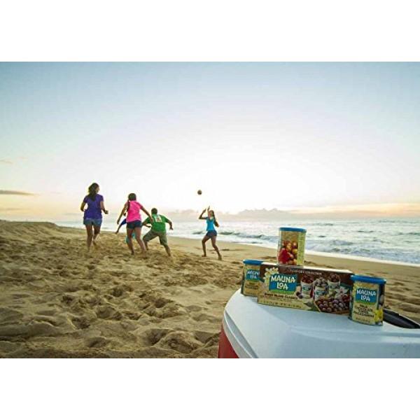 Mauna Loa Dry Roasted Macadamia Nuts with Sea Salt Box Set - 4 o...