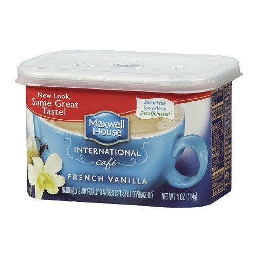 Maxwell House International Coffee Decaf Sugar Free French Vanil...