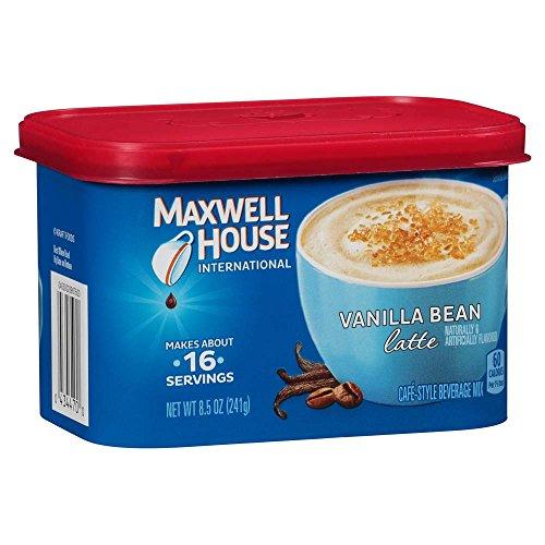 Maxwell House International Cafe Vanilla Bean Latte Instant Coff...