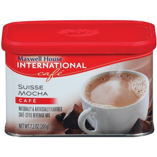 Maxwell House International Coffee Suisse Mocha Caf?, 7.2-Ounce ...