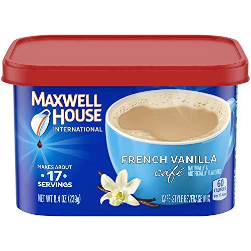 Maxwell House International French Vanilla Beverage Mix, 8.4 oz ...