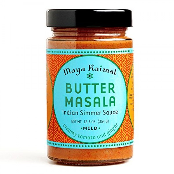 Maya Kaimal Butter Masala Indian Simmer Sauce 12.5 oz each 3 It...