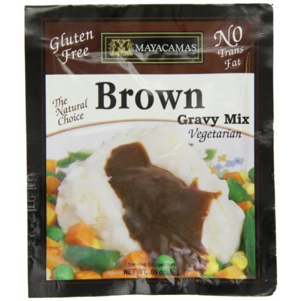 Mayacamas Brown Gravy Mix, 0.65-Ounce Units Pack of 12