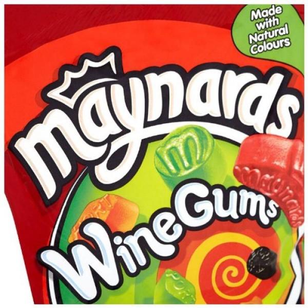 Maynards Wine Gums 190g - Pack of 6