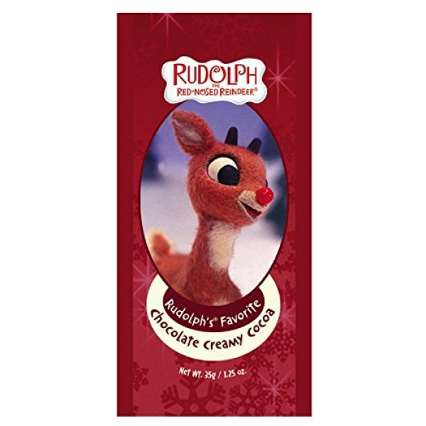 Candy Cane, Gingerbread and Rudolph The Red Nosed Reindeer Hot C...