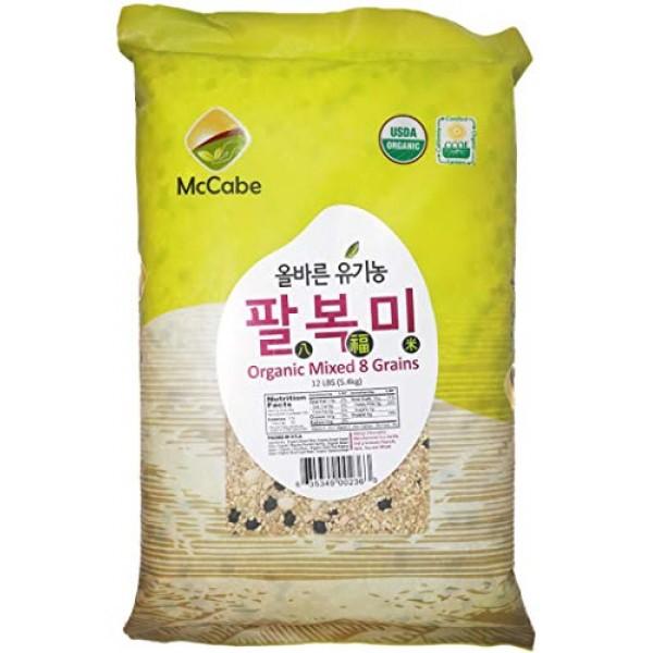 McCabe Organic 8 Mixed Grain, 12-Pound