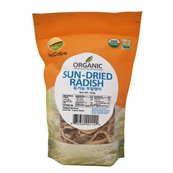 McCabe Organic Sun-Dried Radish, 100g