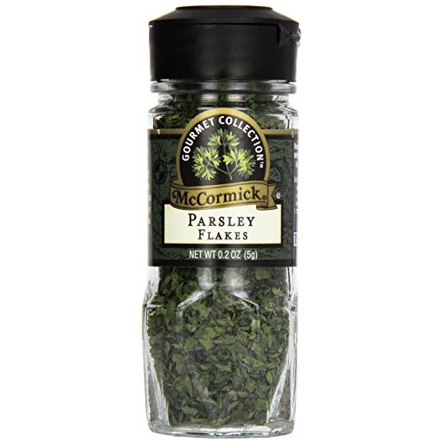 McCormick Gourmet, Flat Leaf Parsley, 0.2 oz
