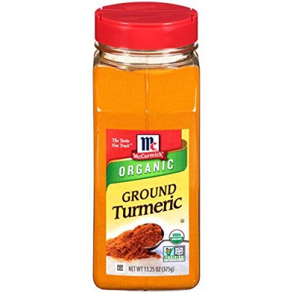 McCormick Ground Turmeric Organic, Non-GMO, Kosher, 13.25 oz