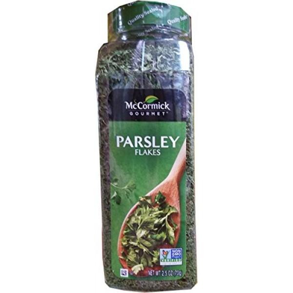 Mccormick Gourmet Parsley Flakes, 2.5 Ounce