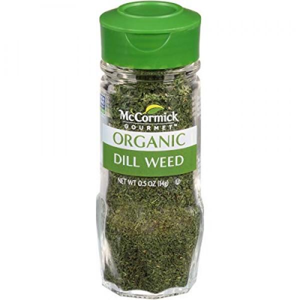 McCormick Organic Dill Weed, 0.5 oz Packaging May Vary
