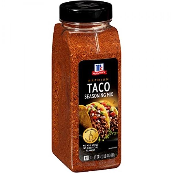McCormick Premium Taco Seasoning Mix, 24 oz