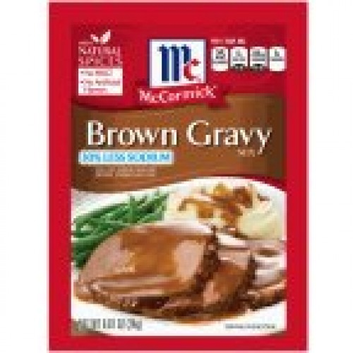 McCormick Gravy Mix Brown.87 OZ Pack of 12
