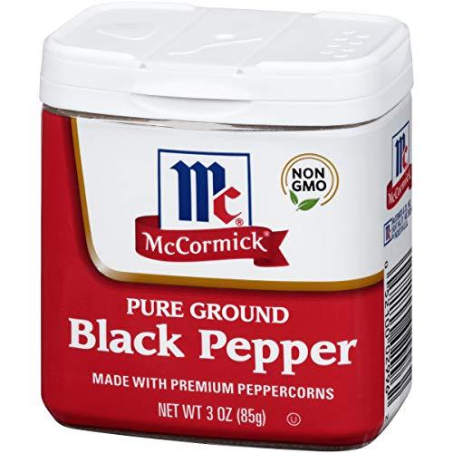 McCormick Ground Black Pepper, 3 oz