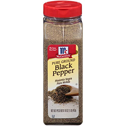 McCormick Pure Ground Black Pepper, 16 oz