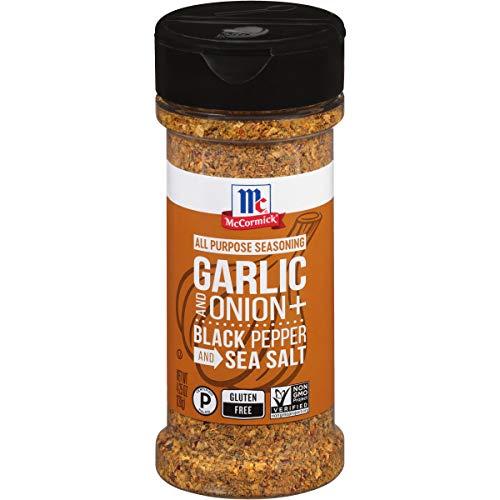 McCormick Garlic Onion Black Pepper And Sea Salt All Purpose Sea...