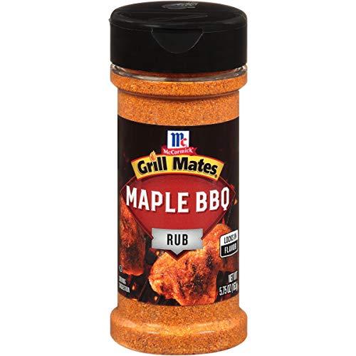McCormick Grill Mates Maple BBQ Rub, 5.75 oz