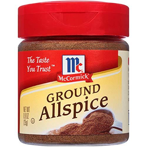 McCormick GROUND ALLSPICE .9oz 4 Pack