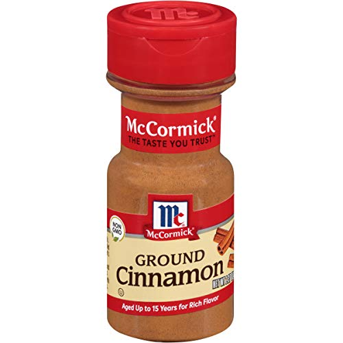 McCormick Ground Cinnamon Sweet Spice, 2.37 Ounce Pack of 6